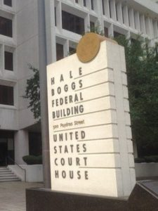 Federal Court for the Eastern District of Louisiana in New Orleans